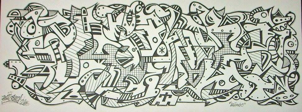 Zeichnung von Cemnoz - Graffiti I Style