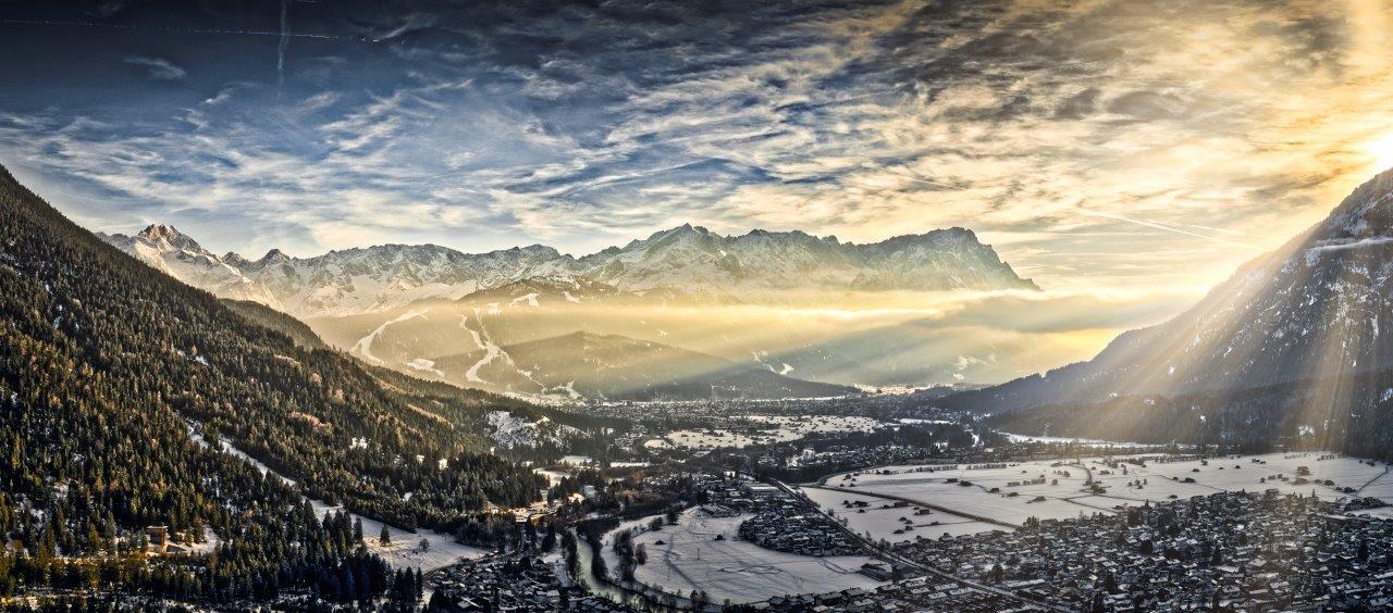 Fotografie von Michael von Hassel - die Zugspitze