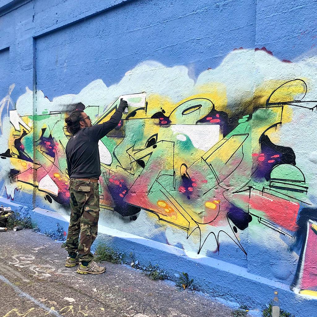 Graffiti-Festival im Schlachthofviertel
