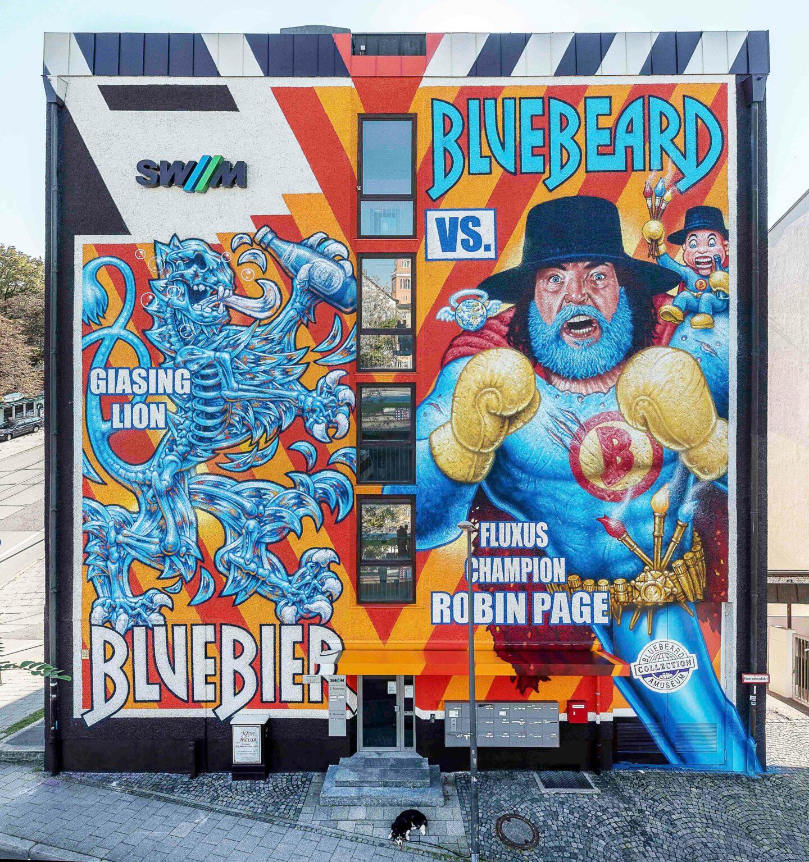 WON ABC GRAFFITI ROBIN PAGE BLUEBEARD