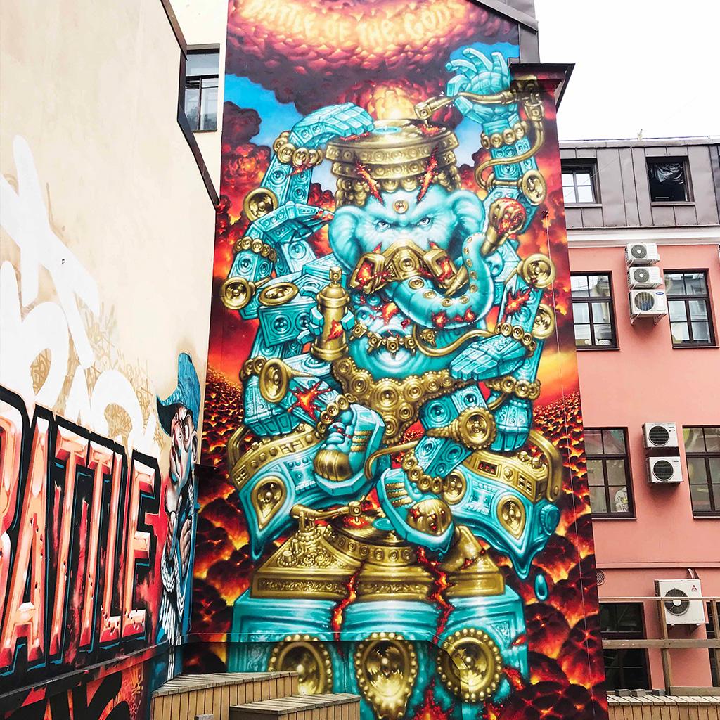 WON ABC Graffiti