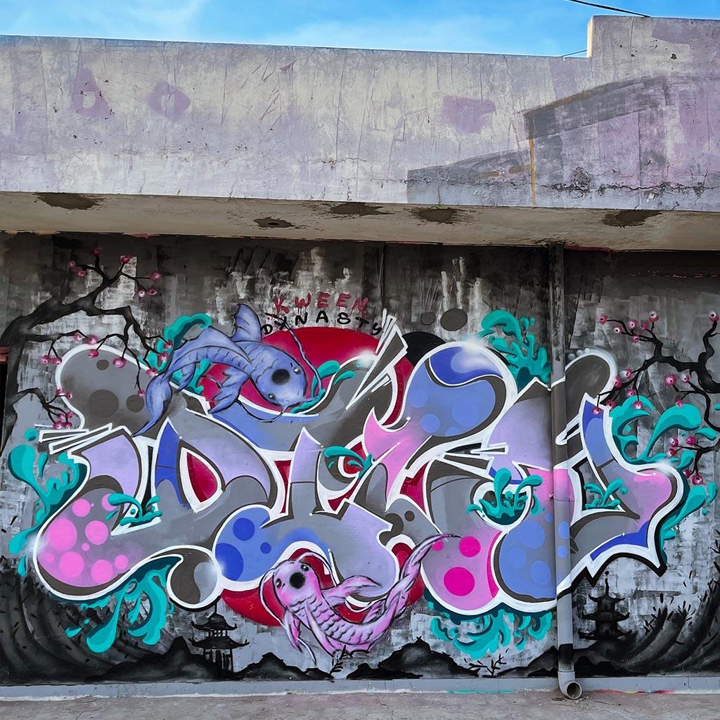 Graffiti von DIZY - Künstlerin aus Berlin