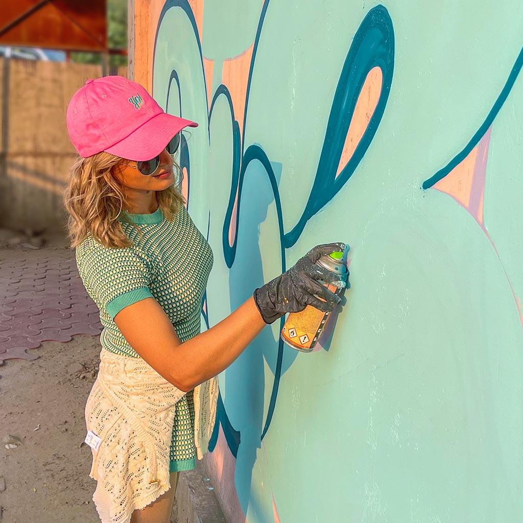 DIZY Graffiti-Künstlerin aus Berlin