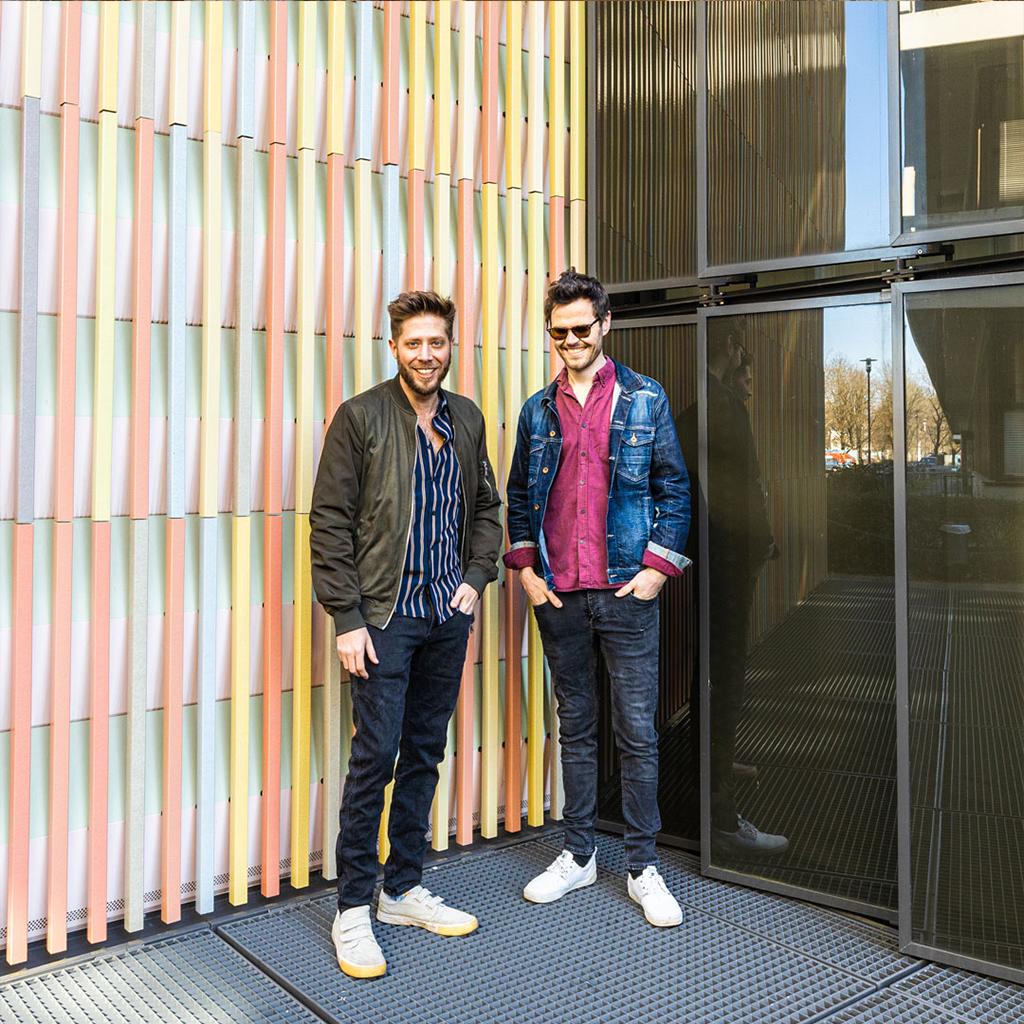 Die Münchner Musiker Mirror Lane - James und Fabo